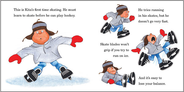 Pond Hockey page spread