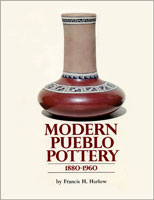 Modern Pueblo Pottery: 1880-1960 front cover