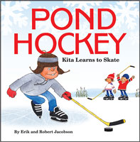 Pond Hockey: Kita Learns to Skate front cover