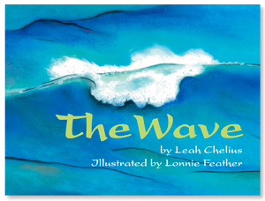 "Book cover of ""The Wave"" by Leah Chelius"""