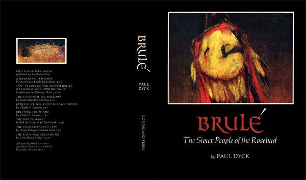 Brule, by Paul Dyck front and back cover.